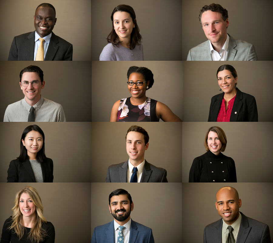 grey background business portraits in washington, dc